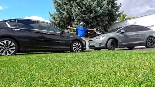 Traded My Tesla Model X For Honda Accord!