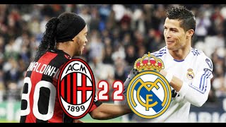 Football Fight and Furious Moments - AC Milan vs Real Madrid 2010