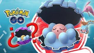 ¡NUEVO EVENTO CLAMPERL en Pokémon GO! ¿¡Saldrá SHINY! Tendremos HUNTAIL y GOREBYSS! [Keibron]