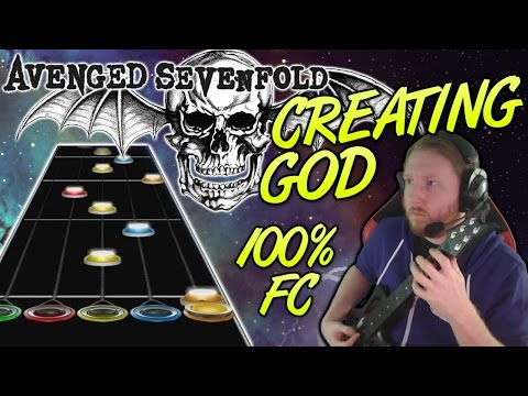 Avenged Sevenfold - Creating God 100% FC (Guitar Hero Custom -- The Stage)