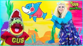 Baby Shark   Kids Song and Nursery Rhymes Sing and Dance   Animal Songs with Gus