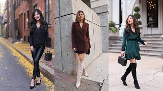 What to Wear for a Night Out When It's Cold