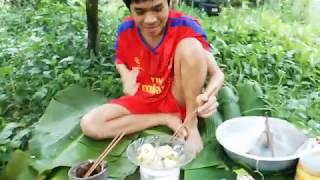 Lần đầu ăn TÔM TÁI CHANH - BAORSIX