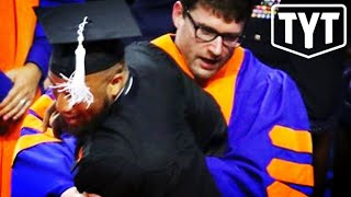 Black Students Dragged Off Graduation Stage