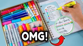 DIY STUDY HACKS! How To Be PRODUCTIVE After School + Study Tips to Get BETTER GRADES!