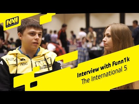Interview with Funn1k - The International 2015 (ENG SUBS)