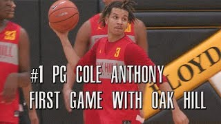 Cole Anthony & Cam Thomas Are A PROBLEM! Oak Hill Takes On Massanutten Full Highlights