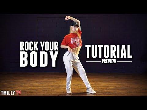 Delaney Glazer - Chris Brown - Rock Your Body - DANCE TUTORIAL [preview]