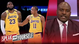 LeBron should be upset with Avery Bradley, talks Jokic COVID-19 — Wiley | NBA | SPEAK FOR YOURSELF