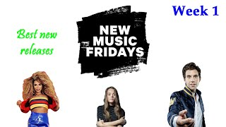 Best New Releases from New Music Friday 2019 Week 1