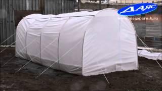 Видео: Мегапарник Даяс в дождь