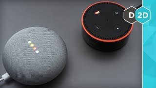 Google Home Mini VS Amazon Echo Dot - Who gets your 50 dollars?