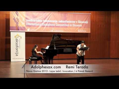 Remi Terada - Nova Gorica 2013 - Lojze Lebič: Invocation / à Primož Ramovš