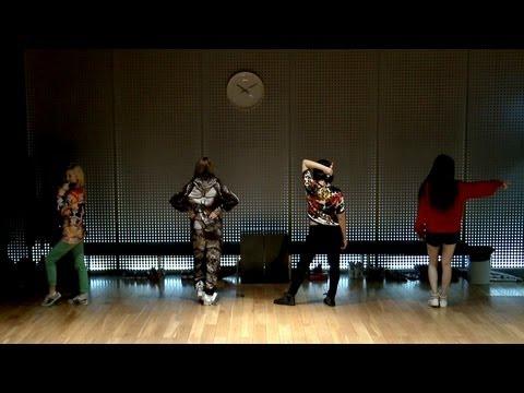 2NE1 - 'DO YOU LOVE ME' Dance Practice (안무연습)
