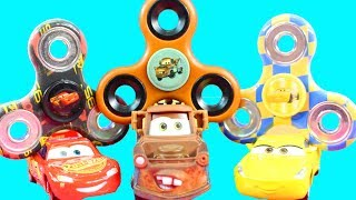 Disney Cars 3 Lighting McQueen Gets Arrested For Using Fidget Spinner & Goes To Jail Mater Stories