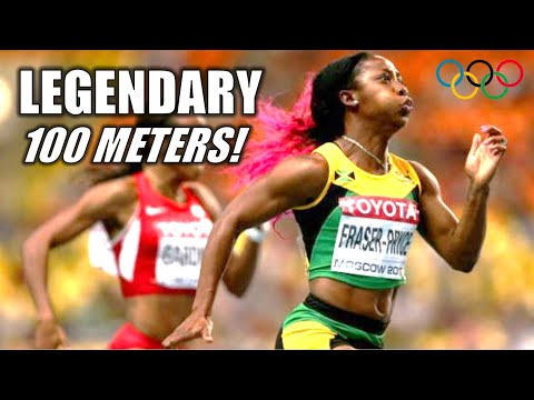 Shelly-Ann Fraser-Pryce's LEGENDARY OLYMPIC 100 METERS! || The 2021 Tokyo Race For History!