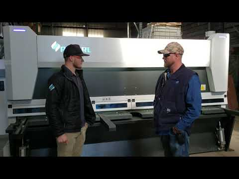 AccurlUSA 10' X .25'' MasterCut CNC Shear Customer Testimonial