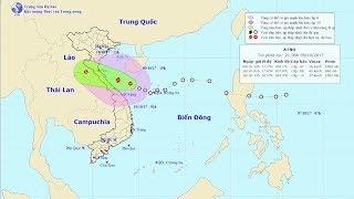 Tin Tức 24h : Tin áp thấp nhiệt đới gần bờ