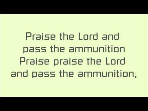 Praise The Lord And Pass The Ammunition - Serj Tankian lyrics