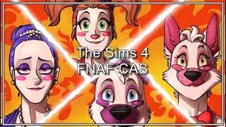 The Sims 4 #2 - #CAS Making Animatronics Sister Location