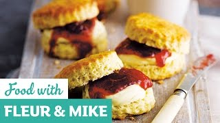 Brilliantly British Scones | Fleur & Mike