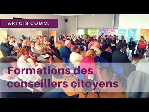 Formations des Conseillers citoyens Artois Comm.