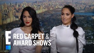 "Nikki Bella Talks Romance Rumors With ""DWTS"" Pro Artem | E! Red Carpet & Award Shows"
