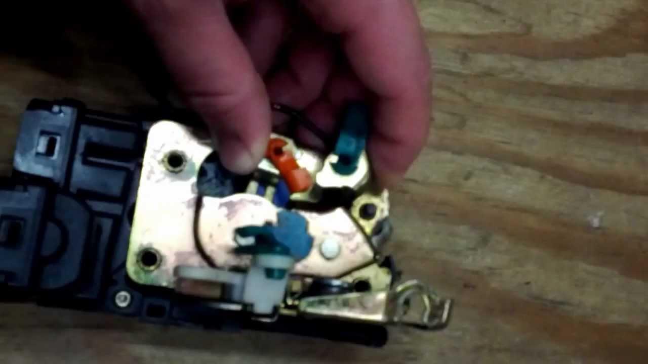 Dodge Ram Van Electric Lock Door Latch Stuck Fix Youtube