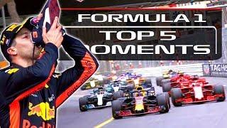 Top 5 Moments From The 2018 F1 Monaco Grand Prix
