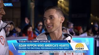 Adam Rippon Today Show Olympic Interview | LIVE 2-17-18