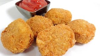 Mcdonald's Chicken McNuggets Video Recipe In 3 Easy Steps How To Make Homemade Nuggets (HUMA)