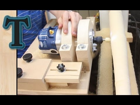 Woodworking Plans Project Cool Build Wood Lathe On You Tube