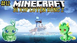 Oops Club Minecraft Bí Kíp Luyện Rồng 2 - Tập 12: HAI CHÚ RỒNG BỊ ĐÓNG BĂNG