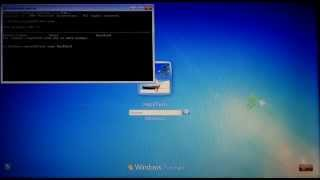 how to hack windows 7 password without software or cd