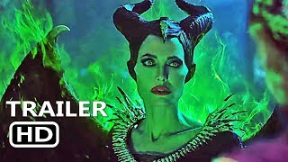 MALEFICENT 2: MISTRESS OF EVIL Official Trailer (2019) Disney Movie