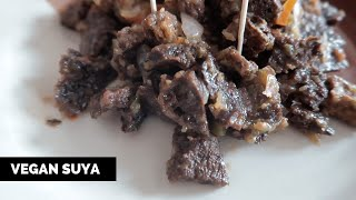 Trying Vegan Suya for the first time || VEGAN RESTAURANT IN LAGOS