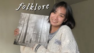folklore cardigan & vinyl unboxing • COMMENTARY