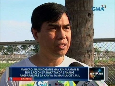 Saksi: Mancao, Pinaaalis Na Ng DOJ Sa Witness Protection Program - Smashpipe News Video