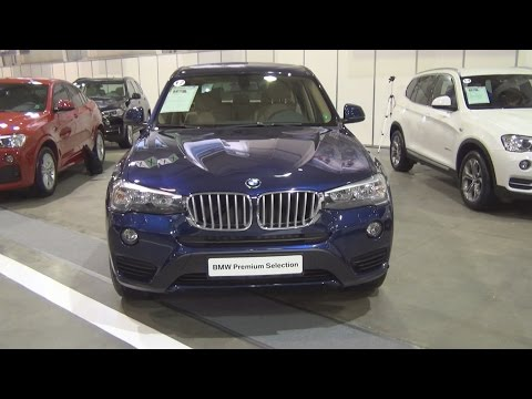 BMW X3 xDrive 35d (2016) Exterior and Interior in 3D