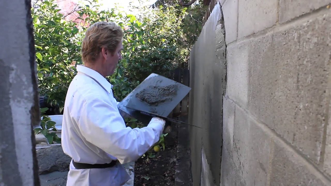 Stucco Thickness On Cinder Block Or Cmu Walls Youtube