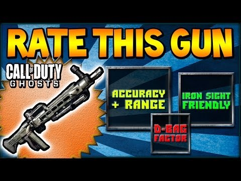 "COD Ghosts - ""RATE THIS GUN"" AMELI LMG (Call Of Duty Weapon Breakdown) - Smashpipe Games"
