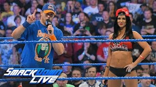 """John Cena"" and ""Nikki Bella"" give themselves an A-List sendoff: SmackDown LIVE, April 4, 2017"