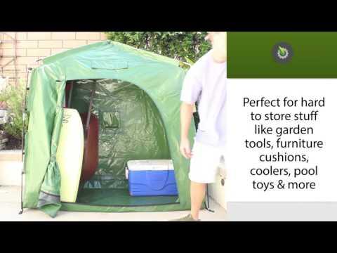 YardStash IV Outdoor Bike Storage