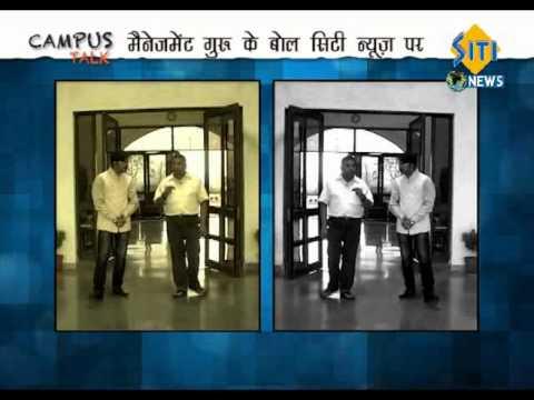 IIM Indore - Director, Prof. N Ravichandran.. An interview by Mahendra Singh