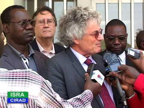 A AISRA/CIRAD : Dr Alioune FALL et Dr Michel EDDI pour un partenariat renouvelé et renforcé