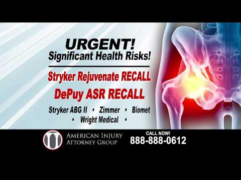 American Injury Attorney Group - Stryker Hip Recall Lawyer