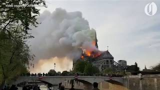 Notre Dame cathedral on fire; 'not sure if we are capable' of stopping spread