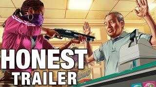 Grand Theft Auto: Online (Honest Game Trailer)
