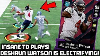 DESHAUN WATSON IS ELECTRIFYING! CRAZY TD PLAYS! Madden 20 Ultimate Team