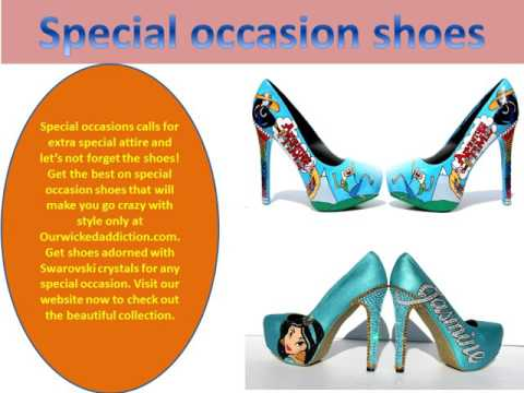 Choosing the perfect custom wedding shoes or custom shoes is imperative